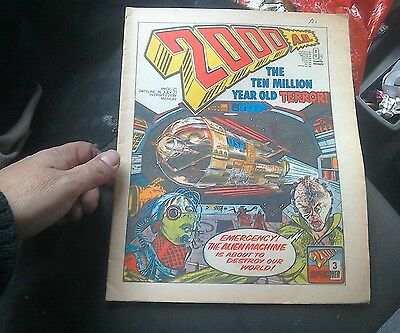 2000ad prog ,21 from  1977-decent copy!