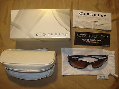 9297-03 NEW OAKLEY SHES UNSTOPPABLE RASPBERRY SPRITZER w/ G40 BLACK GRADIENT