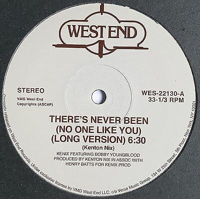 "Kenix Featuring Bobby Youngblood - There´s Never Been (No One Like You) - 12"" Vi"