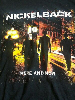Nickleback 2012 here and now tour t-shirt 2xl (c11)