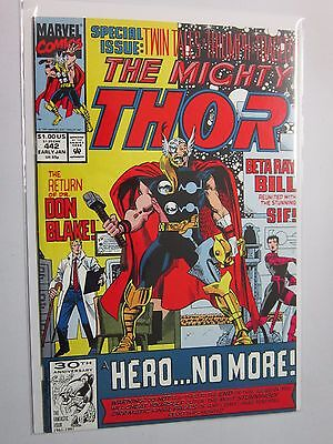 Thor (1962-1996 1st Series Journey Into Mystery) #442 - VF+ 8.5 - 1991