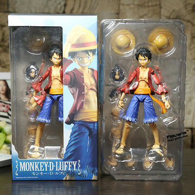 Anime One Piece variable Monkey D Luffy articulable action figure 18cm
