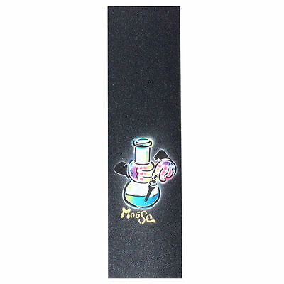 New Mob Mouse Ripped Griptape Hand Sprayed Skateboard Grip Tape  (1 Sheet)