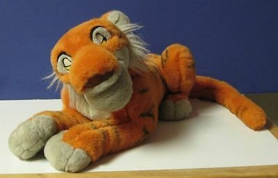 Disney Shere Khan Jungle Book Plush Tiger 13""