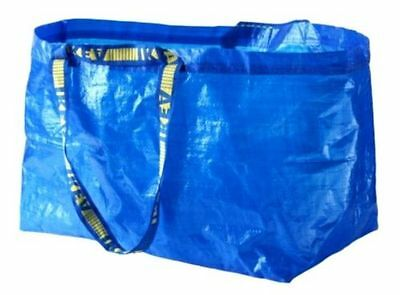 IKEA LARGE BAG Shopping Grocery Laundry Storage Tote ECO Bags Strong FRAKTA NEW