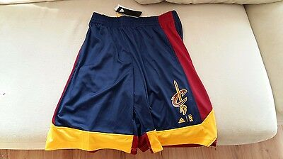 Cleveland CAVALIERS | ADIDAS Shorts Size S | Brand NEW with Tags | NBA