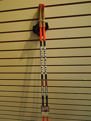 Rossignol Air Force WCS Carbon Cross Country Ski Poles 150cm Kit  NEW!