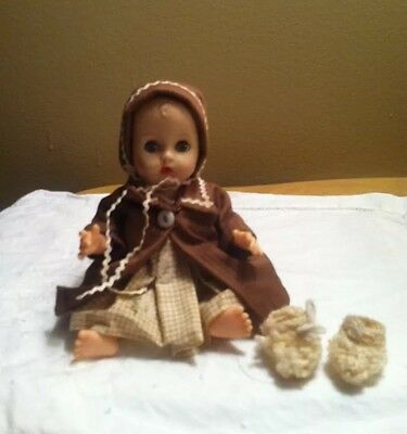 1950's Baby Doll W/Sleep Eyes Dress/Coat Outfit