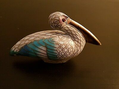 Collectible Pelican Ceramic