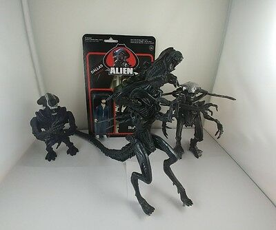Alien Toys, Lot Of 4 Figures, Vintage '90s And Up.