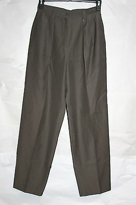 VTG 80s Italy GIORGIO ARMANI 28/30 Wool PLEATED High Waist Trouser Pants 1129