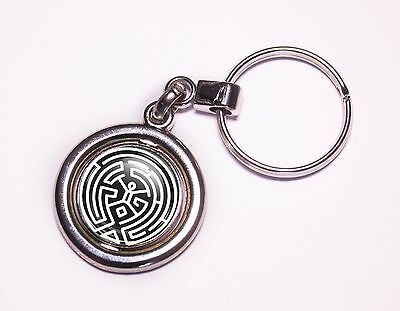 Westworld (The Maze) Spinner Keyring