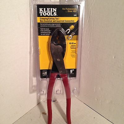 Klein Tools Crimping/cutting Tool #1005 - Non-Insulated & Insulated Connectors