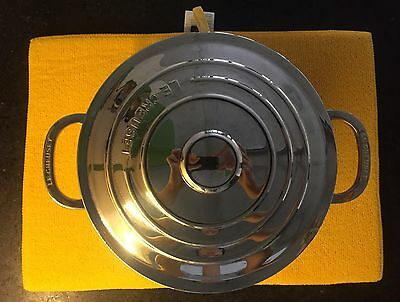Le Creuset Stainless Steel Casserole And Steamer Insert
