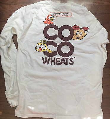 Coco Wheats Cereal Long Sleeve Shirt Size Large