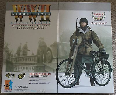 dragon action figure ww11 german jupp 1/6 12'' boxed 70365 did cyber hot toy