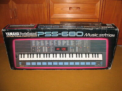 Yamaha PSS 680 PortaSound Home Music Work Station Synth - Brand New Mint Boxed