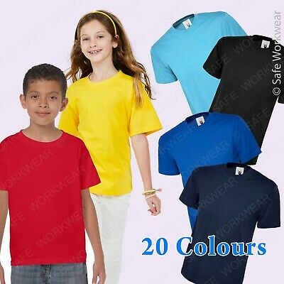 Premium Quality children's Tshirt for School Sports or daily use Unisex Kids Top