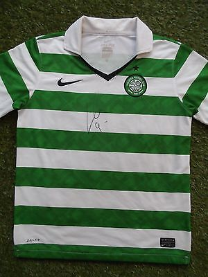 LEIGH GRIFFITHS Hand Signed Celtic Home Football Shirt - COA - Autograph
