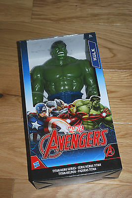 The Avengers Marvel Hulk Action Figure - Titan Hero Series Bnib