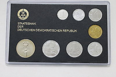 Germany Ddr Mint Set 1982 Missing 5 Pf. With Damaged Coins A63 Cg35