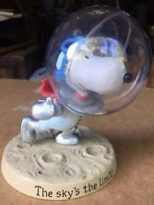Hallmark PEANUTS Gallery ASTRONAUT SNOOPY Figure THE SKY'S THE LIMIT No Box