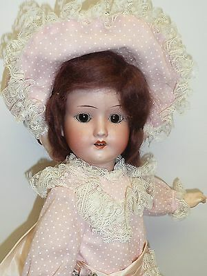 "14.5"" Schoenau & Hoffmesiter 1909 Antique German Doll w/Ball Jointed Body As Fou"