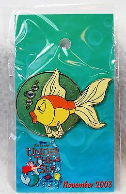 Disney DCL Pin Trading Under The Sea LE 750 Pursuit Pucker-up Cleo Pinocchio