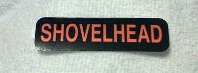 SHOVELHEAD Motorcycle Helmet Sticker Biker Helmet Decal
