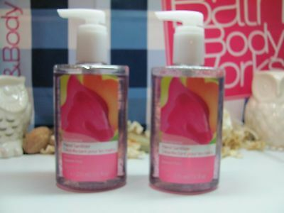 Bath and Body Works (2)~ Sweet Pea ~ Large anti-bacterial  Hand Sanitizer 7.6 oz