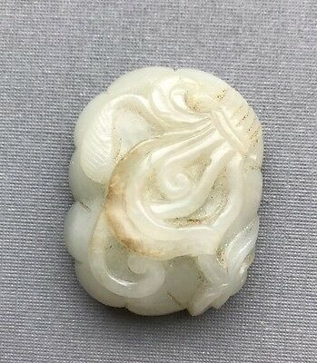 A Chinese Antique Jade Toggle Pendant Ex Christies