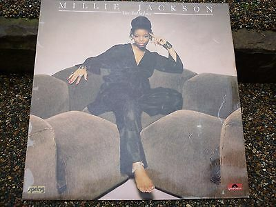 MILLIE JACKSON- Free And In Love Vinyl LP- 1976 POLYDOR  Label