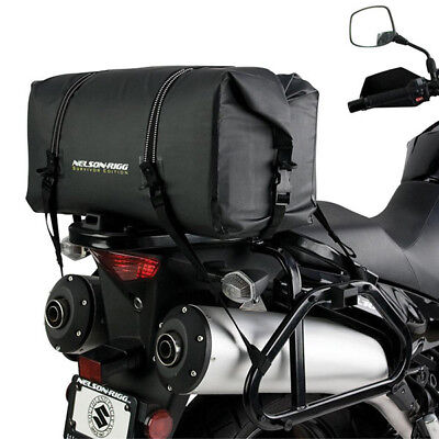 Nelson-Rigg NEW SE-2020 Black Large PVC Survivor Adventure Dry Motorcycle Bag