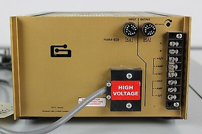 Gresham Lion Ltd GXL Series High Voltage Power Supply Unit GXO 12