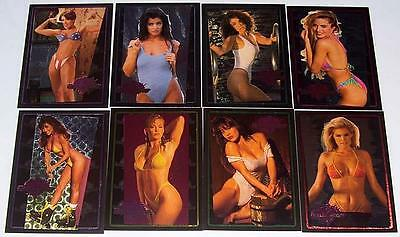 Benchwarmer Refractive Etch Complete Limited Edition 8 card set 1994 NM-M