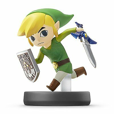 Amiibo toon Link Super Smash Brothers Nitendo Switch Wii U 3DS Japan repre-order