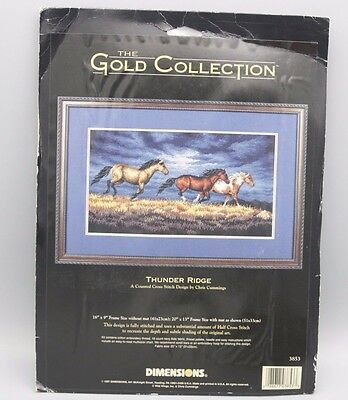 Dimensions Gold Collection Thunder Ridge Counted Cross Stitch 3853 16 x 9 Inch
