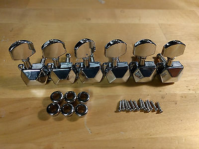 Squier Fender Bullet Strat Stratocaster Guitar Tuners Tuning Pegs