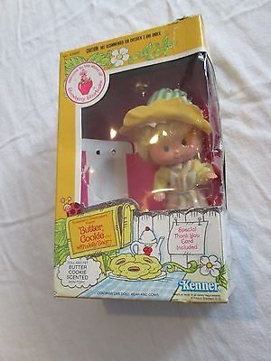 Vintage 1982 Strawberry Shortcake Butter Cookie In Box Kenner SSC