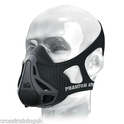 Phantom Athletic Training Simulates High Altitude Fitness Mask MMA CrossFit