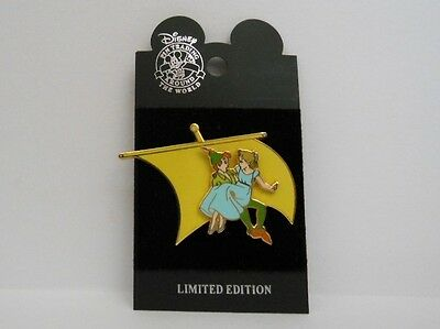 Disney DCL ~ Wendy Rescued Peter Pan Rescue Captain Mickey 2002 LE Pin
