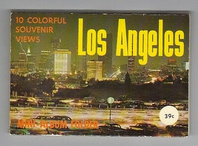 Los Angeles  vintage scenic views pictures booklet