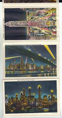 New York  vintage scenic views pictures booklet