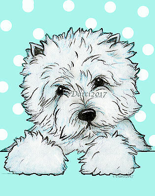 West Highland white Terrier note cards  Do0tty by Darci