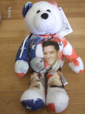 Elvis Presley~Gi Blues~ 2003 Limited Treasures Commemorative Bear ~ With Tag