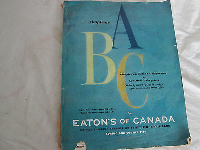 Eaton's Spring And Summer 1957