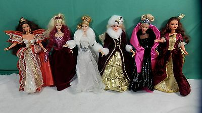 Lot of Barbies  Holiday collectibles