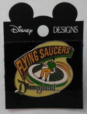 Disney Pin DLR 1998 Attraction Series Flying Saucers Pin