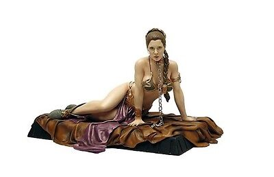 """Star Wars Princess Leia Jabba's Slave Deluxe Statue Gentle Giant 1/6 Scale 6.5"""""""