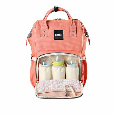 Diaper Baby Bag Nappy  Large Capacity Travel Backpack Desinger Nursing Care New